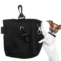 Pet Dog Puppy Snack Obedience Training Treat Bag Feed Bait Food Pouch Belt Bags