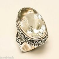 Citrine Silver Ring 925 Solid Sterling Silver Handmade Jewelry (US-CIT-001)