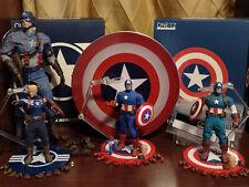 Mezco 1/12 Collective Captain America Classic Modern Steve Rogers Hot Toys Lot
