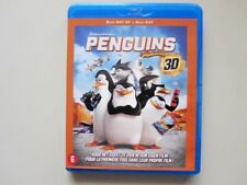 PENGUINS OF MADAGASCAR 3D   -  BLU-RAY  - 2D+3D