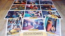 SALAAM BOMBAY  ! mira nair jeu 12 photos cinema lobby cards