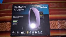 Belkin AC750(DB) Wi-Fi Dual Band AC + Router
