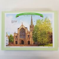 Luxury 1000 Piece Jigsaw Puzzle of Norwich Cathedral - Kevin Robinson Collection