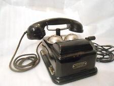 30`ger Jahre Originales altes antikesTelefon schwarz ZB OB Bakelit