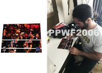 WWE SETH ROLLINS HAND SIGNED AUTOGRAPHED 8X10 PHOTO WITH PROOF AND COA 20