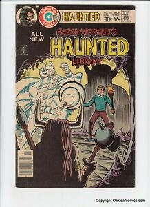 Haunted 20 Charlton Comic Book 1976 High Grade Scarce! Ditko!