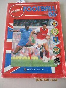 Panini Football 86 1986 Incomplete Album 478/574 83% Complete