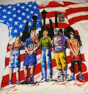 "Vintage 90's ""See You At The Pole""VOTE Full Print U.S.A Single Stitched size L"