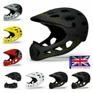 Adult Cycling Helmet Full Face MTB Mountain Road Downhill Bicycle Safety Helmets