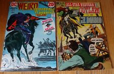 WEIRD WESTERN #15 ALL STAR WESTERN #4 ADAMS COVERS