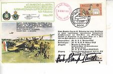RAF Hurricane cover signed by Battle of Britain ace BOB Stanford-Tuck1979