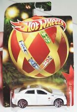 Hot Wheels Holiday Cadillac CTS-V White