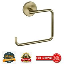 Hand Towel Ring Open Bathroom Accessories Trinsic Sleek Elegant Champagne Bronze