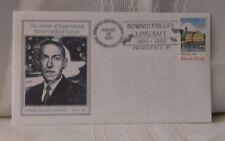 H.P. Lovecraft CENTENNIAL 1890-1990 Philatelic Cache Envelopes August 20th 1990