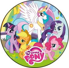 Tortenaufleger My little Pony Dekoration Pferd DVD NEU Oblate Tortenbild Filly