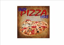 American Vintage Style Diner Sign Cafe Sign Pizza Retro Style  Kitchen Sign