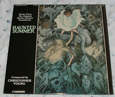 HAUNTED SUMMER (Christopher Young) rare original factory sealed stereo lp (1989)