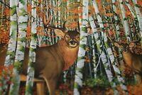 New Deer Jigsaw Puzzle Buck in Autumn Woods  Bits & Pieces 1000 pcs   -BKK)