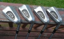 Vintage Macgregor Jack Nicklaus VIP right hand iron set missing the 6 iron