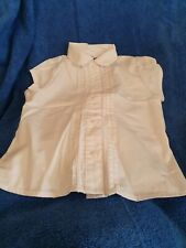 Lovely Girls Next White School Blouse Age 4 Years