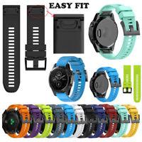 Replacement Silicagel Soft Wristband Strap Band For Garmin Fenix 5 Plus Watch