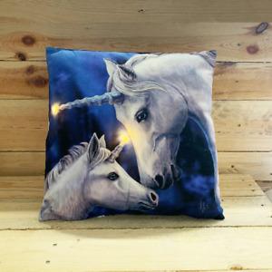 Light up Cushion Unicorn James Ryman Cushion with Filling