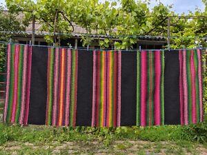 Handmade Wool Woven Carpet Runner 'Mihailyanskaya' Moldavian Bessarabian 1984