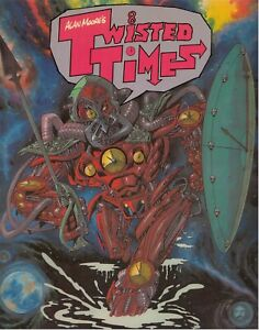 Alan Moore's Twisted Times GN Judge Dredd 2000 AD Watchmen 1987 OOP NM