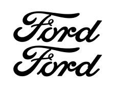 FORD DECAL, VINYL STICKER, (2 items) FREE SHIPPING