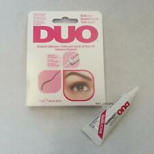 0.25oz DUO False Eyelash Glue Adhesive DARK 7g waterproof / Eye lashes make up