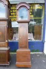 More details for good antique longcase clock case for 12ins by 16.5ins dial