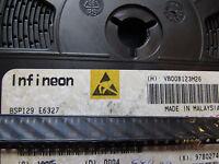 BSP129E6327 INFINEON TRANS-MOSFET N-CH 240V 0.35A 4-Pin 3+Tab, SOT-223, 10 piece
