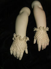 Fingerless Bru - Jumeau Gloves - made to fit antique dolls