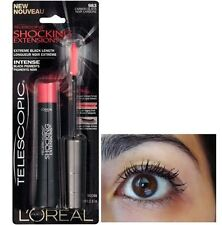 L'Oreal Telescopic Shocking Extensions Mascara - 983 Carbon Black