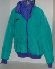 Columbia Sportswear Men's Reverse Teal Purple Ski Jacket Radial Sleeves L 5750