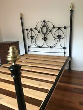 Antique Cast Iron Bed Frame and Base
