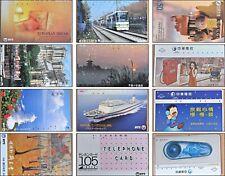 12  x  Japan & Taiwan Telecom Phone Card