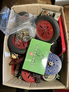 Job Lot Vintage Meccano 4.9KG Including Box
