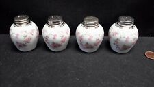 NC West Germany Schumann Bavaria Original Bridal Rose Two Sets of Shakers