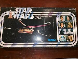 Star Wars Escape From Death Star Game 1977 Complete Toltoys