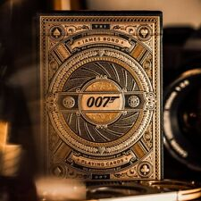 More details for james bond playing cards deck 007 by theory 11 new sealed uk seller