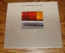 Original 1986 Volkswagen Vw Quantum Foldout Sales Brochure 86