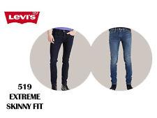 BRANDNEU ORIGINAL Levis 519 Herren Extreme Skinny Fit Jeans