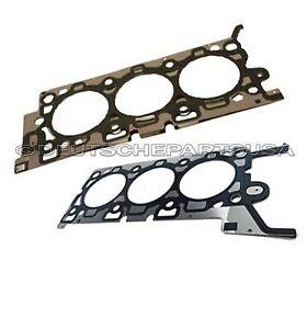 ENGINE CYLINDER HEAD GASKET L+R JAGUAR S X TYPE V6 3.0 XR857983 + XR857982 SET 2