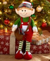Max 2-Ft. Decorative Holiday Santa's Elf Christmas Home Decor 1-Pc