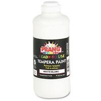 Prang Ready-to-Use Tempera Paint White 16 oz 21609