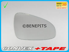 TOYOTA YARIS 2010-2014 Right Side Convex Wing Mirror Glass +Strong Tape /423