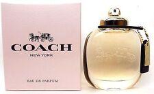 Coach New York Perfume By Coach 3.0 oz/ 90 ml EDP Spray Women New in Sealed Box.