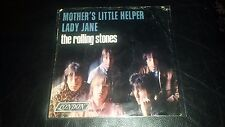 "THE ROLLING STONES 45 PS. ""MOTHER'S LITTLE HELPER"" w/b""LADY JANE"" ( COVER ONLY)"