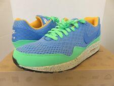 "NIKE Air MAX 1 EM ""Beaches of Rio"" Men's Size 10 Blitz Blue Sneakers Shoes"